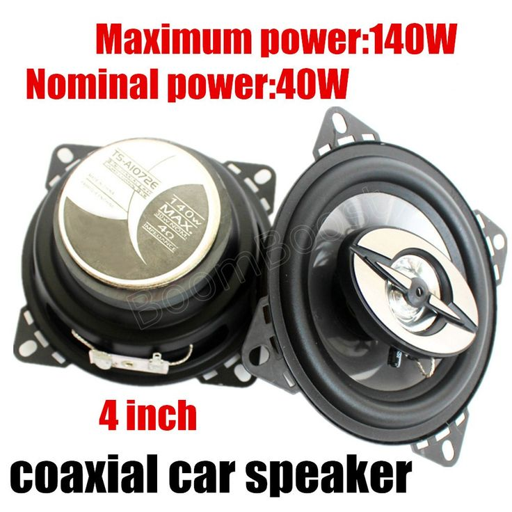 Hot sale New Arrival Selling coaxial car Speaker 12V MAX music power 140W High Quality Speakers 4 inch car stereo speaker audio #Affiliate
