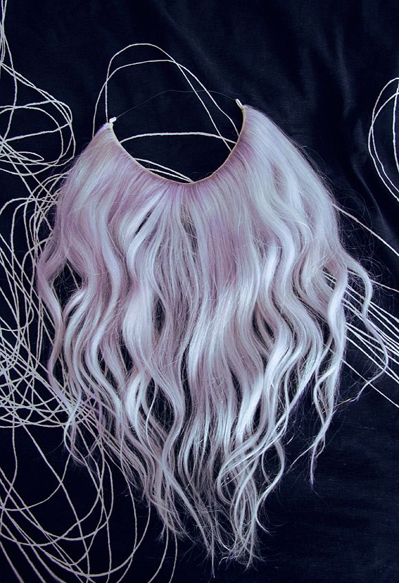BLΛCK SΛLIVΛ » Halo Hair Extensions DIY