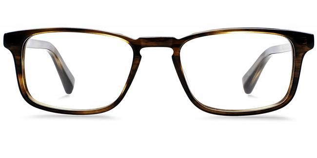 Arthur in Sugar Maple - Eyeglasses - Men   Warby Parker