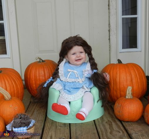 Little Dorothy - Halloween Costume Contest via @costumeworks