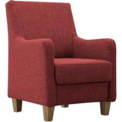 Sessel Rot Microfaser Roller Microfaser Mittenimraum Roller Rot Sessel In 2020 Armchair Furniture Decor
