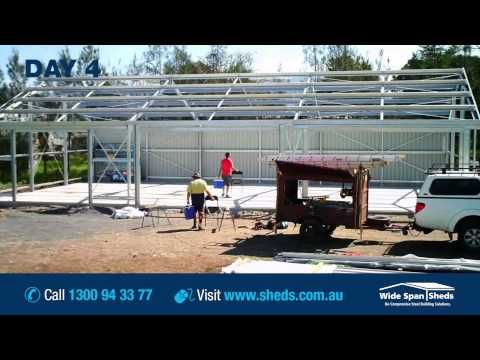 Construction Timelapse | Check out a video of the construction of one of our farm sheds.