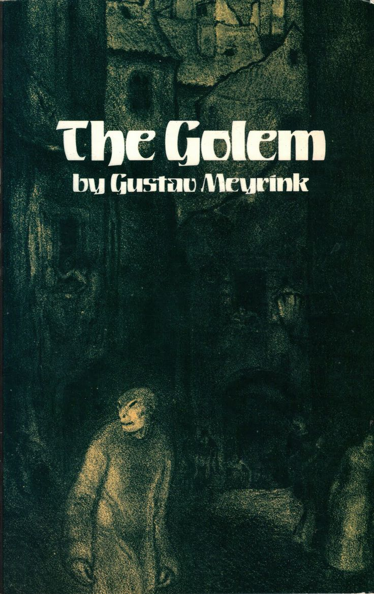 [Classics] The Golem by Gustav Meyrink, http://en.wikipedia.org/wiki/The_Golem_(Meyrink)