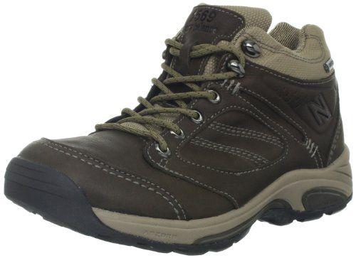 awesome New Balance Women's WW1569 Country Walking Shoe,Brown,9.5 B US