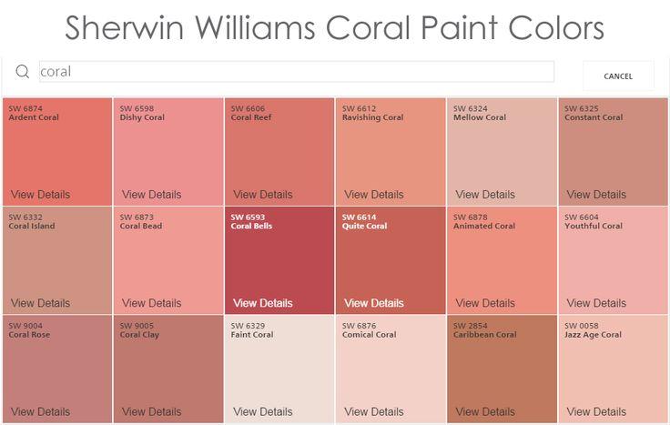 best 25 coral paint colors ideas on pinterest. Black Bedroom Furniture Sets. Home Design Ideas