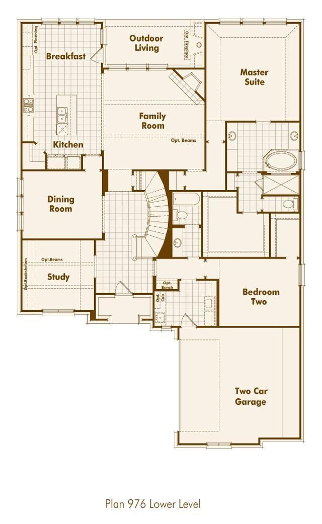 highland homes floorplan floor plans pinterest