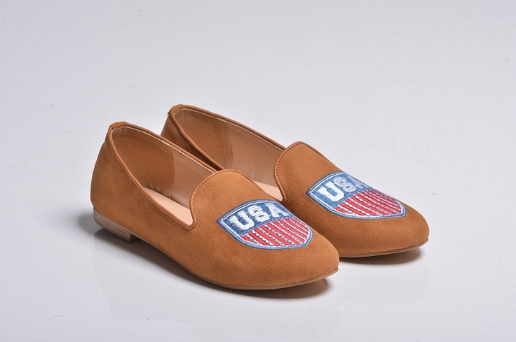 USA Velvet Slippers