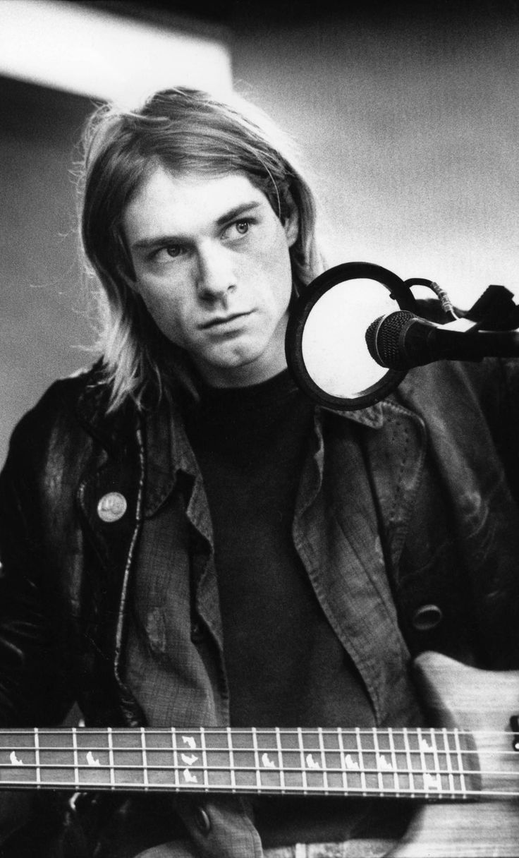 Kurt Cobain #Nirvana has always been my favorite picture of him