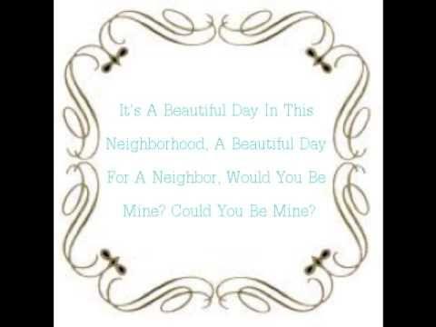 mr rogeru0027s theme song lyrics youtube