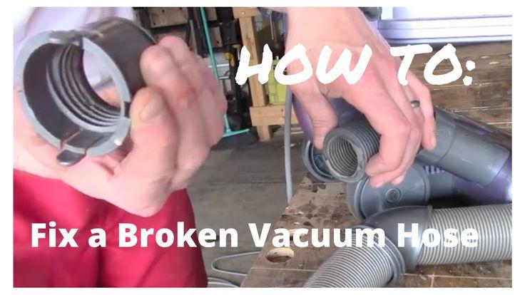 Shark vacuum cleaner split HOSE repair-Works like NEW!