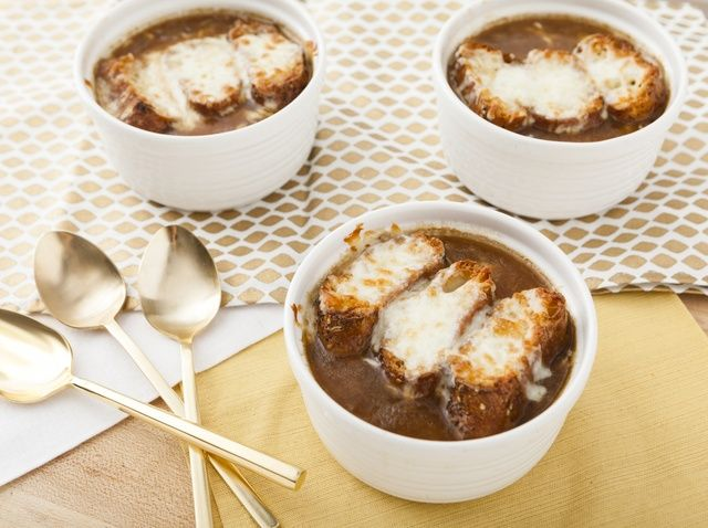 Stay warm during the winter with this Savory French Onion Soup recipe.