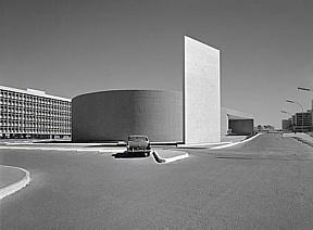 Cine Brasília by Oscar Niemeyer 1960