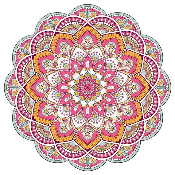 Bohe Mandala Flower Wall Paper Decor Yoga Studio Vinyl: 503 Best Paper-pattern:LOU7 Images On Pinterest