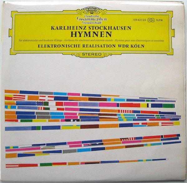 Karlheinz Stockhausen - Hymnen (Vinyl, LP, Album) at Discogs