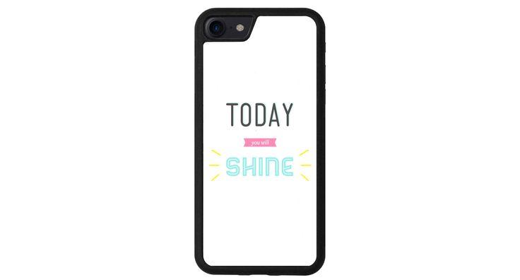 Aujourd'hui tu vas brillé iphone 4 5 6 7 samsung S3 S4 S5 S6 S7 S8 edge note plus LG G3 G4 G5 G6 Moto G G2 E X Play Z HTC  5X 6P Pixel de la boutique MeMCase sur Etsy