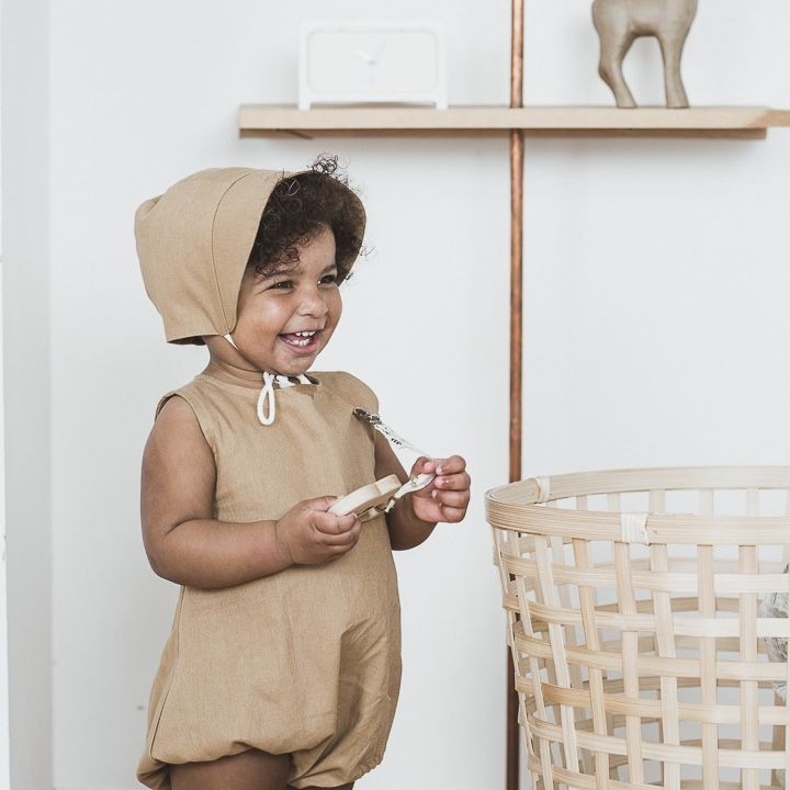 Baby Romper - Classic Bonnet