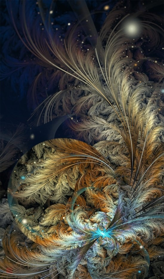 Love this fractal posted by Rocky Mountain Angel on Facebook