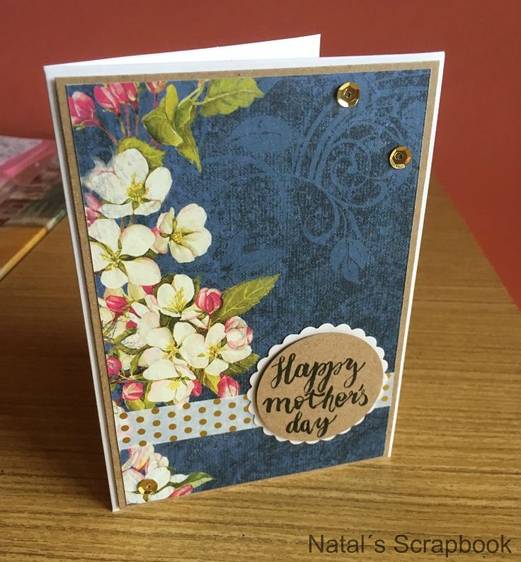 Pozdrav ku dňu matiek (Mother´s day card)