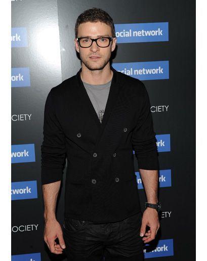 Justin Timberlake stréber elegáns