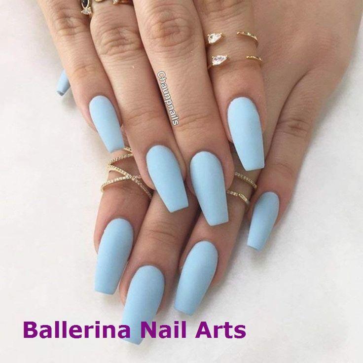 Nagelform Ballerina Ideen Um Schon Zu Sein Bis Makeupoftheday Makeupbyme Makeuplife Makeuptutorial Mattblaue Nagel Sommer Nagel Designs Kunstliche Nagel