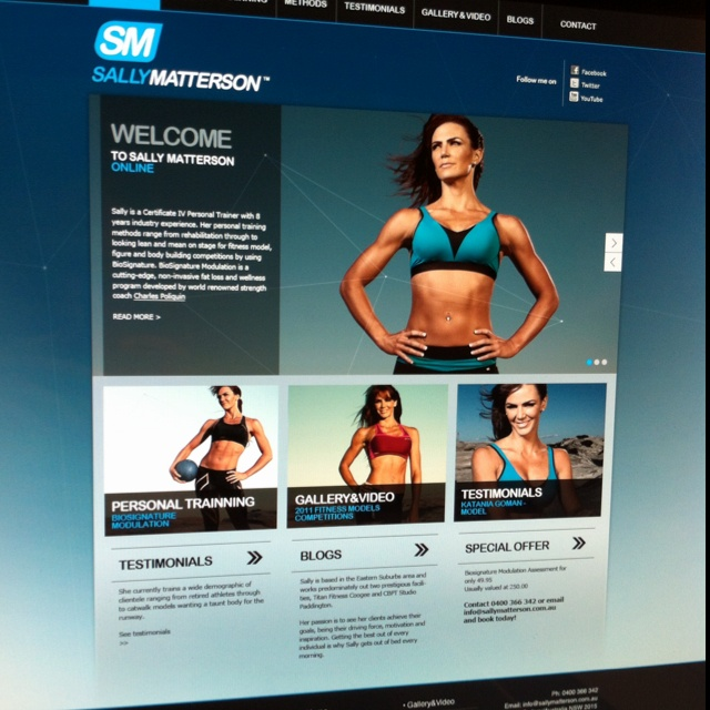 Personal trainer dating site