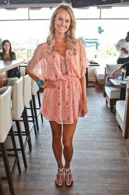 : Shoes, Summer Dresses, Dreams Closet, Color, Cute Dresses, Outfit, Stacy Keibler, The Dresses, Coral Dresses