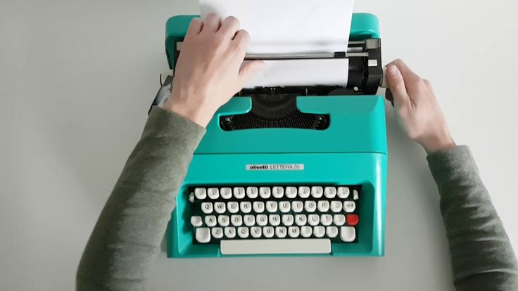 Image result for olivetti typewriters font