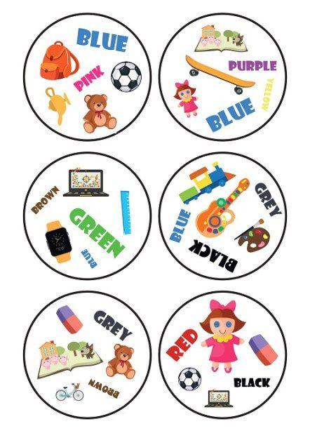 """Temat zabawek i ulubionych rzeczy """"przewija się"""" na wszystkich poziomach nauczania zintegrowanego, dlatego postanowiłam zrobić jeszcze jedną grę do tego tematu. Tym razem spróbowałam sw…"""