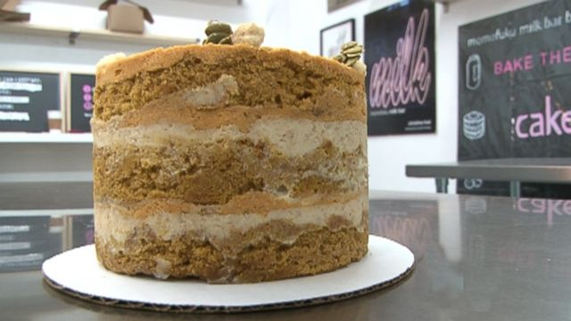 Video: Insomniac Kitchen: Learn How to Make Pumpkin Pie Layer Cake from Milk Bar in NYC