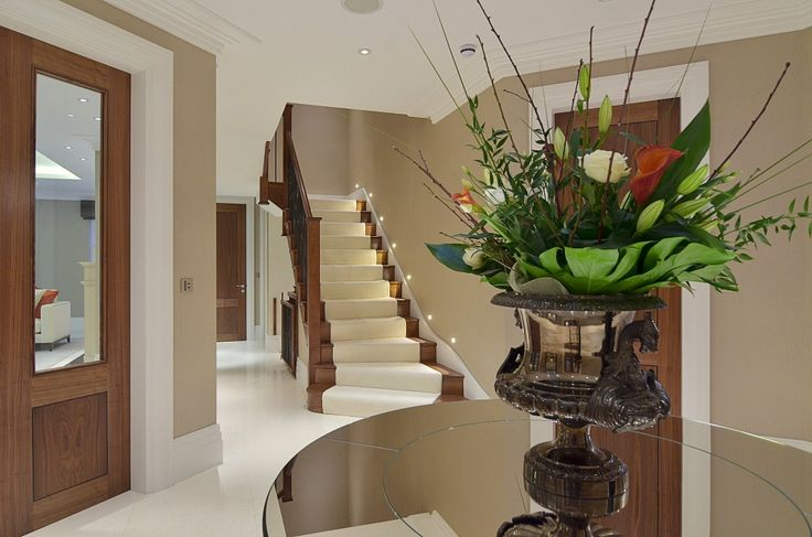 Entrance Hall Modern Mansion In Surrey By Halo Design