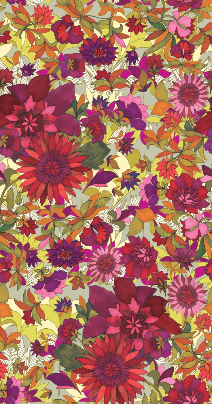 """evergreen vert"" Loren Design textile"