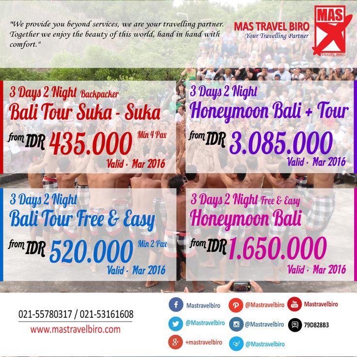Ke Bali cuma ada budget 500 rb untuk paket tournya , tenang saja kami memiliki paket tour bali mulai dari Rp 435.000/orang , silahkan pilih paketnya dibawah ini dan kontak kami di nomor yang tertera di gambar ;) #bali #tour #promo #indonesia