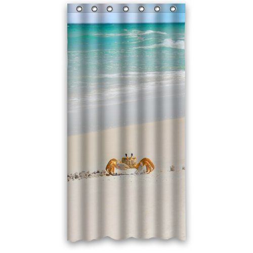 New Bathroom Decoration Fabric Shower Curtain 36 X 72 Features Designed To Fit Standardized Bath Tubs Prevent Water From Splashing Out Of The St