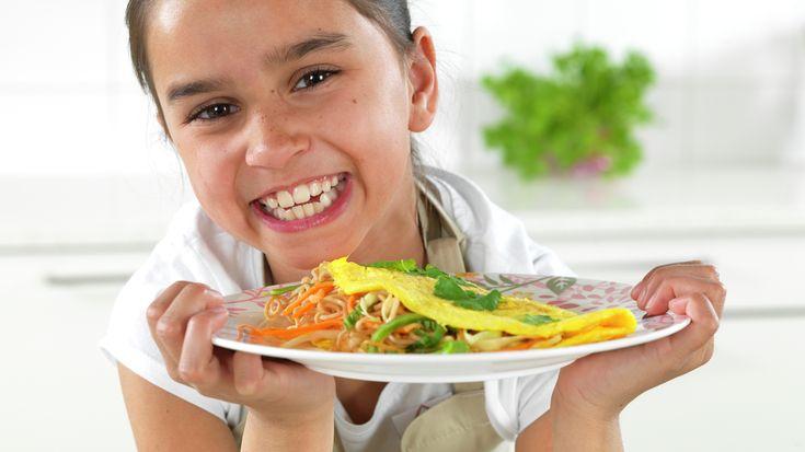 Asiatisk omelett med nudler - MatStart