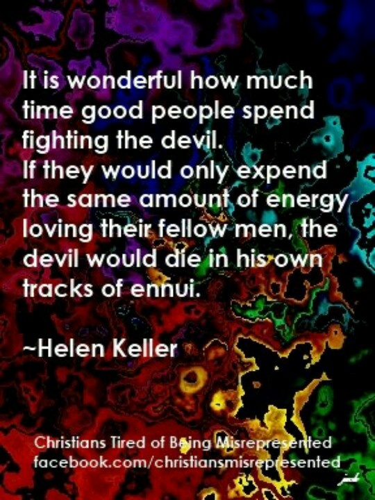 64 best helen keller images on pinterest helen keller anne if god is omnipotent the so called devil is impotent do the math everything that leaves for whats his face the only power the devil possesses is fandeluxe Ebook collections