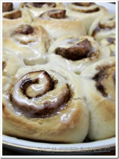 Cinnamon Buns in 30 Minutes