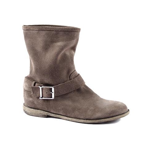 Spring Boot  Upper: Suede  Colors: Tan, Beige, Grey