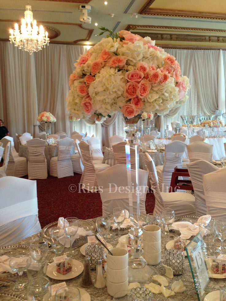 26 best images about center pieces on pinterest for Bling decor