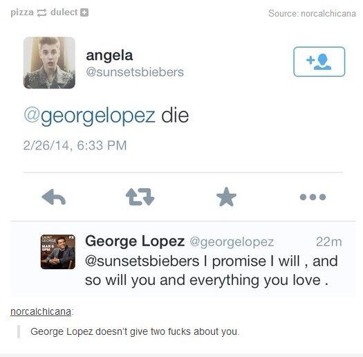 George Lopez is my spirit animal. Dale Jorge!!!