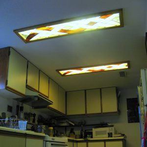 Decorative Fluorescent Lights Kitchens