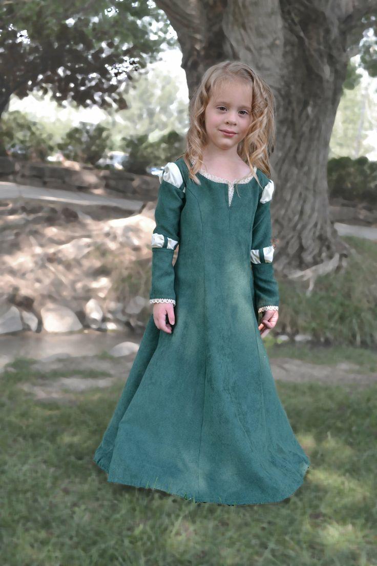 Merida Brave Costume Dress by BITSnSCRAPS on Etsy, $125.00