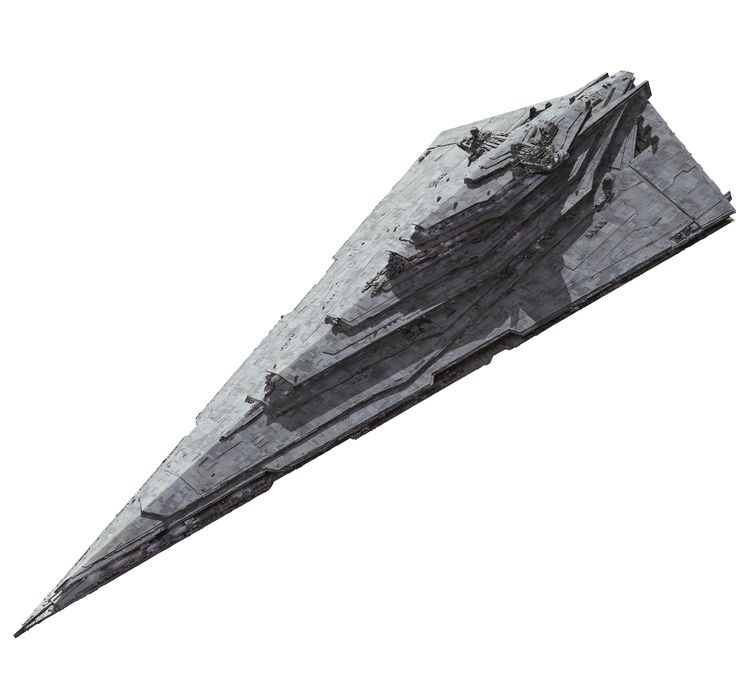 Resurgent-class Star Destroyer DESCRIPTION: was an iconic model of Star Destroyer built by Kuat-Entralla Engineering and utilized by the First Order during its conquest of the Unknown Regions shortly after the signing of the Galactic Concordance. Based off the Imperial-class Star Destroyers is almost twice the size of the Old Empire's Imperial-class Star Destroyers, the Resurgent-class was exactly 2,915.81 meters in length, and continued the dagger-shaped design of the Imperial-class…
