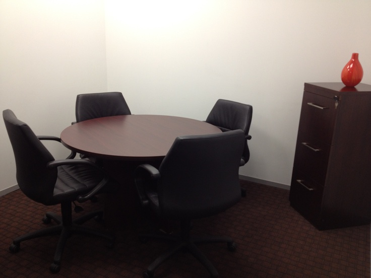 Small Round Table Meeting Room