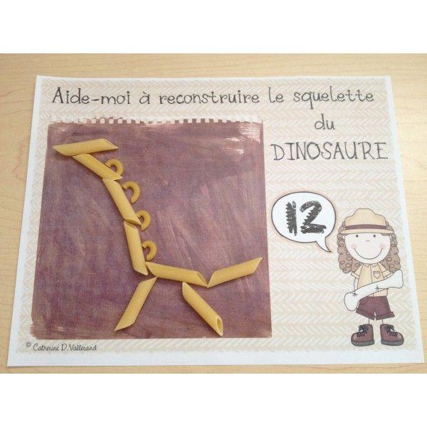 Dinosaures : Le squelette
