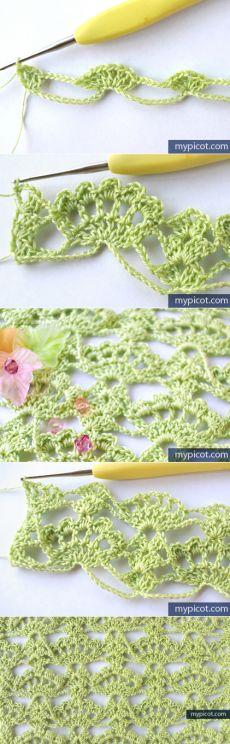Узоры MyPicot | бесплатно вязание крючком