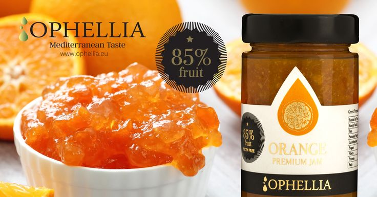 85% fruit jam - pectin free