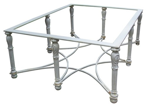 White Star Iron Coffee Table: Coffee Tables, Irons, Fact S Tables, Intriguing Star, Iron Coffee, Glass Tops