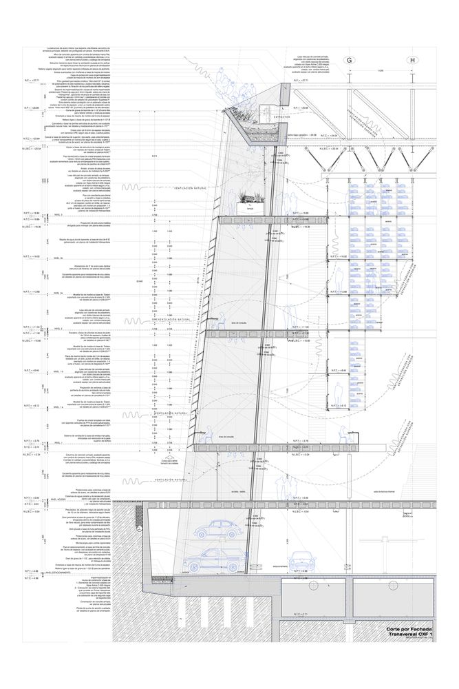 Galeria De Biblioteca Jos Vasconcelos Taller De Arquitectura X Alberto Kalach 33