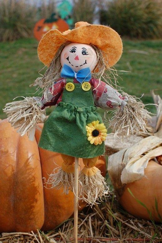 How to Make a Homemade Scarecrow?