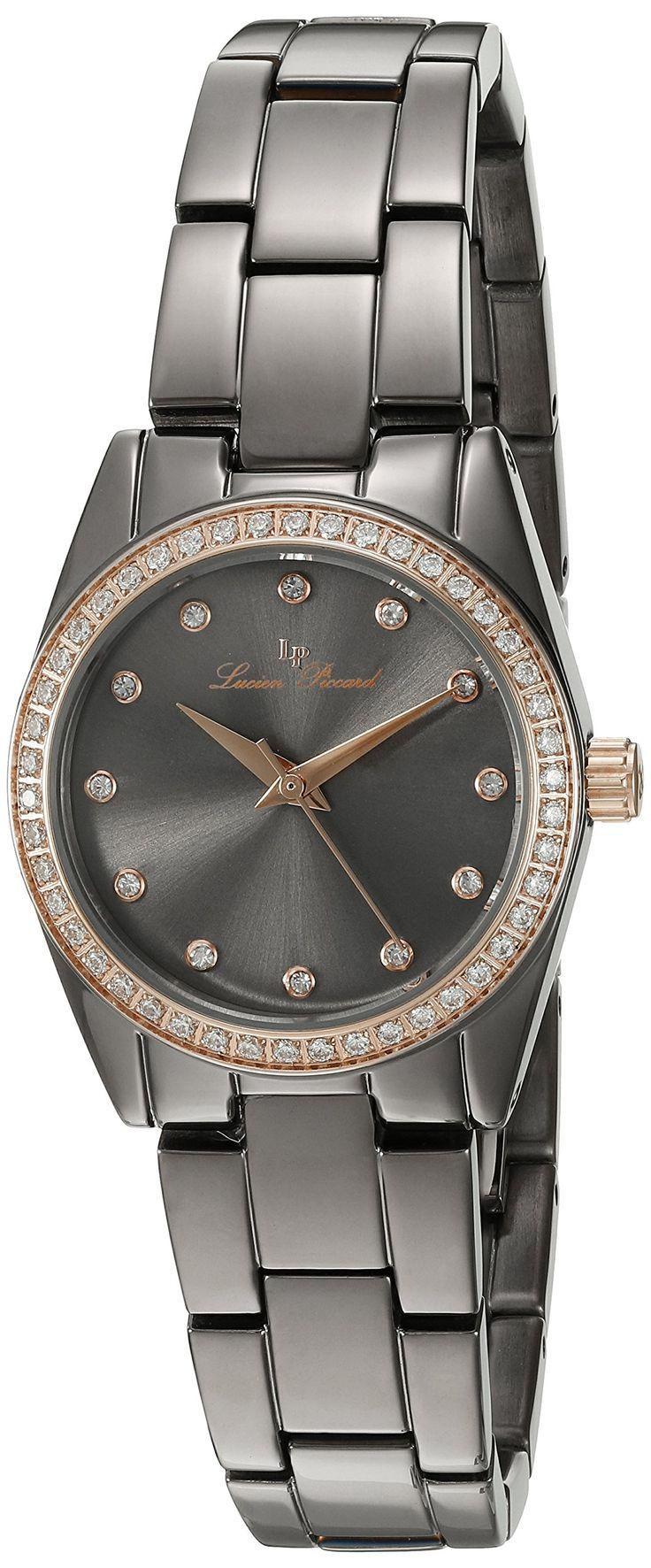 Lucien Piccard Women's 'LaBelle' Quartz Stainless Steel Casual Watch (Model: LP-40023-GM-108-RB)